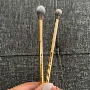 Limited edition Morphe Gold brushes